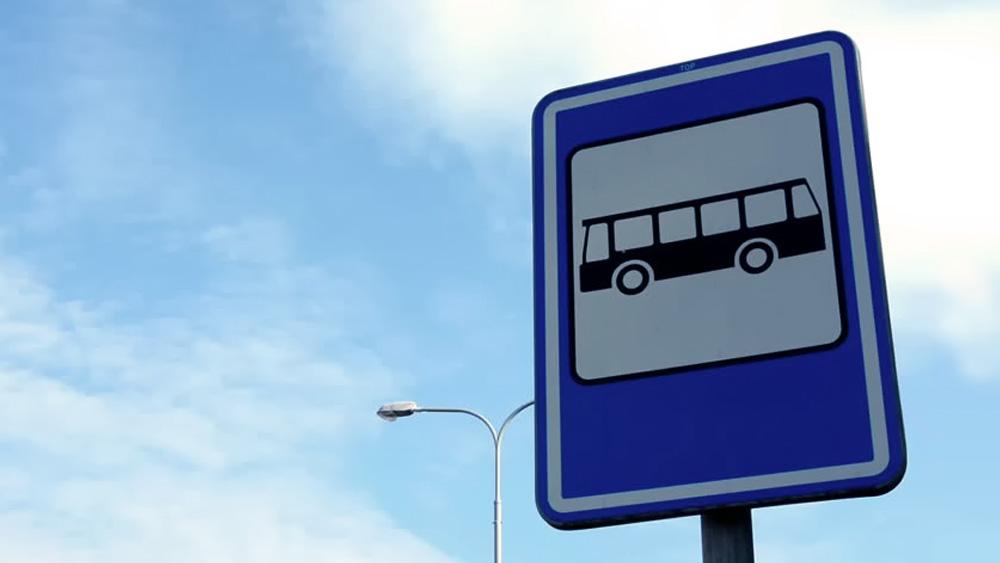 Nem ônibus pode estacionar em ponto de ônibus