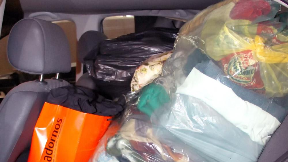 Bagagem no banco de trás do carro dá multa – Mito ou Verdade