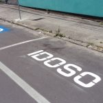 Vagas reservadas de estacionamento