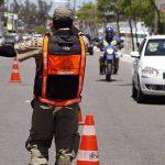 Fiscalização por transpor bloqueio viário policial
