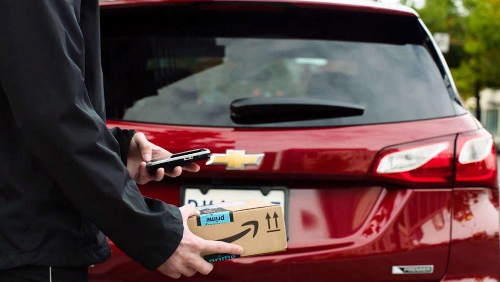 Seu carro já recebe suas encomendas?