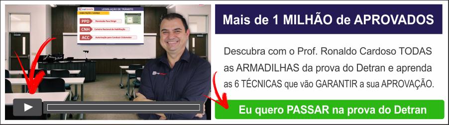 Aprovação no Detran com Ronaldo Cardoso