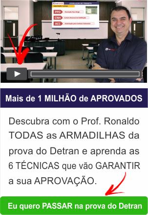 Como ser aprovado de primeira na prova do Detran estudando apenas 15 minutos por dia com o Professor Ronaldo Cardoso