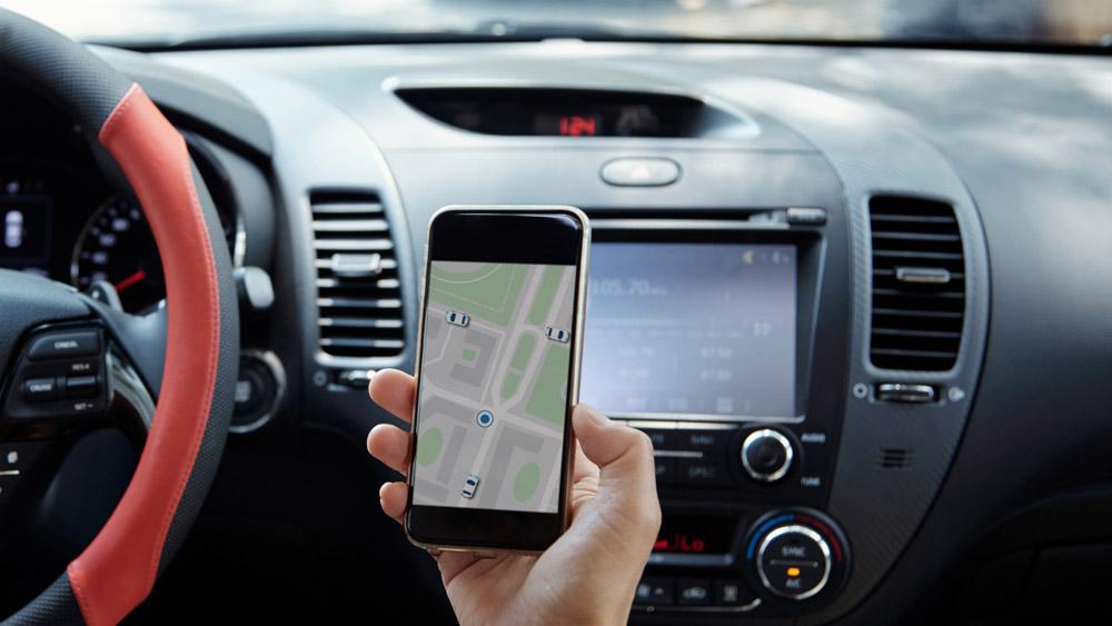 Telefone celular no trânsito