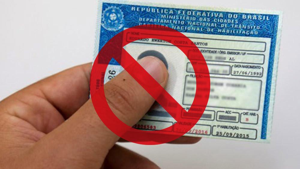 Cassação da Permissão Para Dirigir, uma penalidade que nunca existiu
