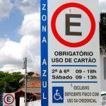 Zona azul – o estacionamento rotativo na via pública