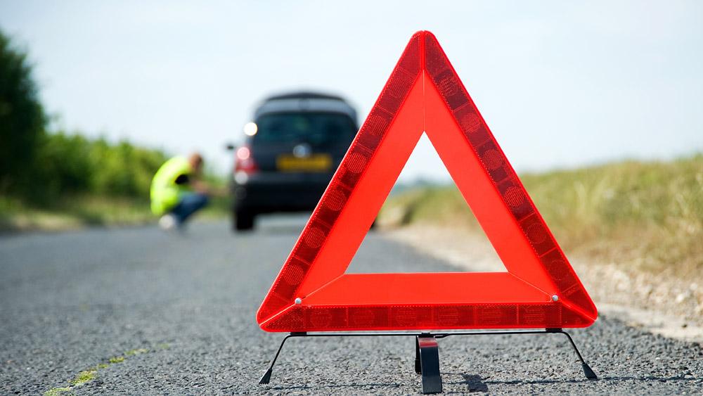 Contagem de passos para sinalização de local de acidente de trânsito