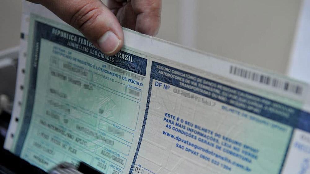A partir de 2020 o licenciamento do veículo poderá ser impresso em casa