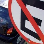 Infrações de trânsito cometidas com o veículo parado