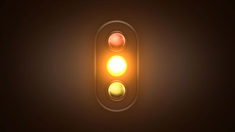 O semáforo: Cores e Comportamento