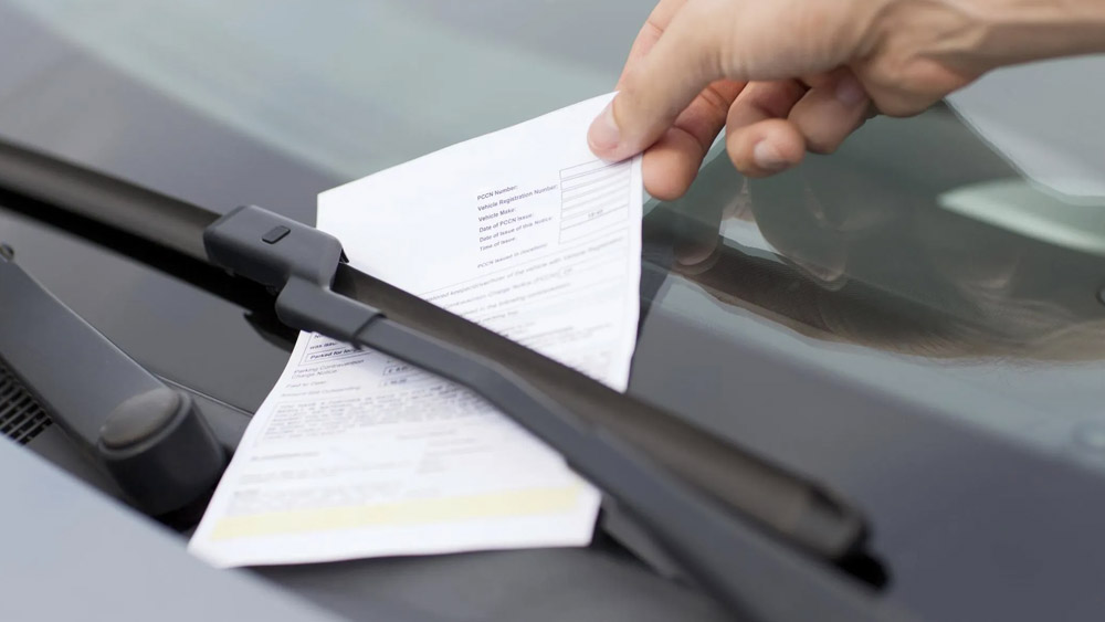 Fiscalização de trânsito fora das vias públicas
